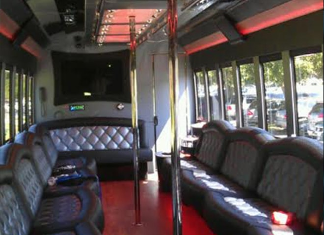 Party Limo Bus interior
