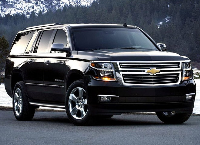 Chevy Suburban Luxury SUV in Chino